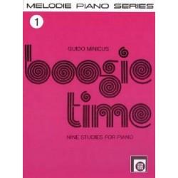 Boogie Time Band 1 : f├╝r Klavier 9 Studies
