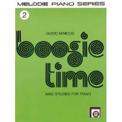 Boogie Time Band 2 : f├╝r Klavier 9 Studies