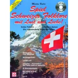 Spiel Schweizer Folklore mit Lust und Liebe Band 1 (+CD)