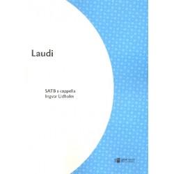 Lidholm, Ingvar: Laudi foer koer (SATB) a cappella score (la)