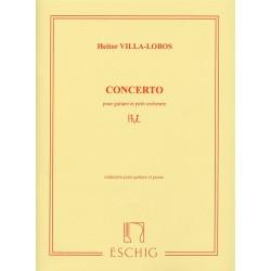 Villa-Lobos, Heitor: Concerto pour guitare et petit orchestre : f├╝r Gitarre und Klavier