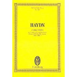 Haydn, Franz Joseph: Konzert D-Dur op.101 : für Violoncello und Orchester Studienpartitur