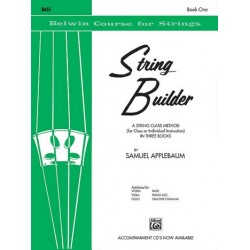 Applebaum, Samuel: String Builder vol.1 : for double bass