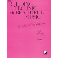Applebaum, Samuel: Building Technic with beautiful Music vol.1 : for string bass