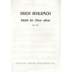 Sehlbach, Erich: Musik für Oboe allein op.87,2