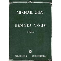 Ziev, Mikhail: Rendezvous : für 2 Fagotte Spielpartitur