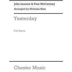 Lennon, John: Yesterday : for mixed ensembles Kaleidoscope 35 Score and parts