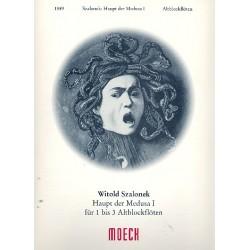 Szalonek, Witold: Haupt der Medusa Band 1 : für 1-3 Altblockflöten