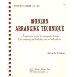Delamont, Gordon: Modern Arranging Technique : A comprehensive approach to arranging and orchestration
