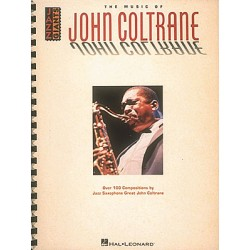 Coltrane, John: The Music of John Coltrane : Jazz Giants Songbook for saxophone solo