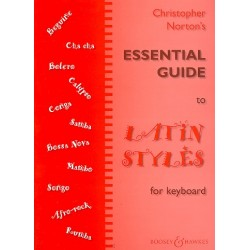 Norton, Christopher: Essential Guide to Latin Styles : for keyboard