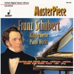 Schubert, Franz: KLAVIERWERKE CD-ROM MASTERPIECE SCHOTT DIGITAL MUSIC LIBRARY