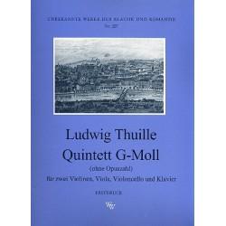 Thuille, Ludwig: Quintett g-Moll o.op. : für Klavier und Streichquartett