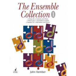 Kember, John: The Ensemble Collection vol.1 : für 2 Klarinetten und Klavier