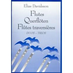 Davidsson, Elias: Duette und Trios : für Querflöten