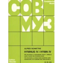 Schnittke, Alfred: Hymnus 4 für 7 Instrumente Partitur und Stimmen
