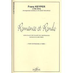 Keyper, Franz: Romance et rondo : pour contrebasse et piano