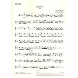 Vivaldi, Antonio: Konzert c-Moll RV441 : f├╝r Blockfl├Âte und Streichorchester Violine 2