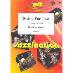 Armitage, Dennis: Jazzination : for trumpet and horn