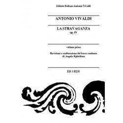 Vivaldi, Antonio: La stravaganza op.4 : for string orchestra and cembalo study score