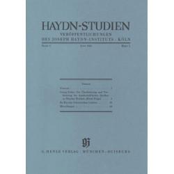 Haydn-Studien Band 1 Teil 1