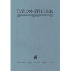 Haydn-Studien Band 1 Teil 2