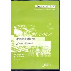 Schubert, Franz: Schubert Lieder Band 1 für hohe Stimme CD