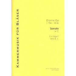 Ozi, Etienne: Sonate C-Dur : für Fagott (Violoncello) und Klavier (Cembalo) Neuausgabe