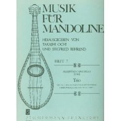Canciello, Prospero: Trio : f├╝r 2 Mandolinen und Bc