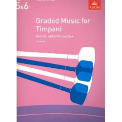Wright, Ian: Graded Music vol.3 Grades 5-6 for timpani