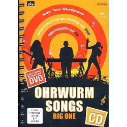 Ohrwurm-Songs Big One (+CD +DVD) songbook Noten/Texte/Akkorde