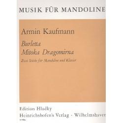Kaufmann, Armin: 2 Stücke : für Mandoline und Klavier
