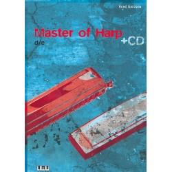 Giessen, René: Master of Harp (+CD, dt/en) : für Mundharmonika