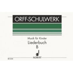 Orff, Carl: Musik für Kinder Band B : Liederbuch (Mittelstufe) Partitur