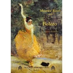 Ravel, Maurice: Bolero : für Orgel zu 4 Händen Partitur