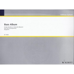 Bass Recorder Album : for bass recorder and piano