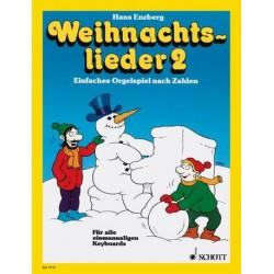 Enzberg, Hans: Weihnachtslieder Band 2 : für einmanualige Keyboards Einfaches Orgelspiel nach Zahlen