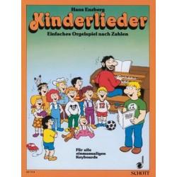 Enzberg, Hans: Kinderlieder Einfaches Orgelspiel nach Zahlen