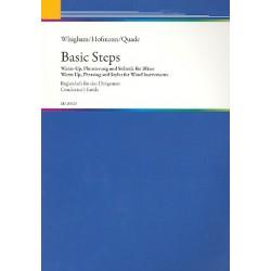 Whigham, Jiggs: Basic Steps : Warm up, Phrasierung und Stilistik für Bläser Begleitheft für Dirigenten
