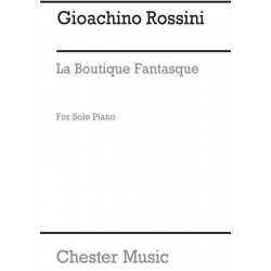 Rossini, Gioacchino: La boutique fantastique : ballet Klavierauszug