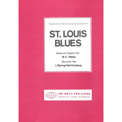 Handy, William Christopher: St. Louis Blues : Einzelausgabe Gesang und Klavier (dt/en)