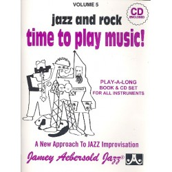 Aebersold, Jamey: Time to play Music (+CD)