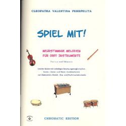 Perepelita, Cleopatra Valentina: Spiel mit : für 2-4 Orff-Instrumente (Ensemble) Partitur und Stimmen