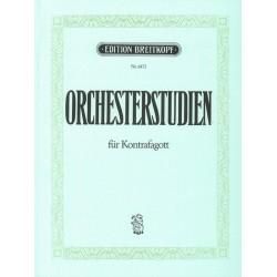 Orchesterstudien : für Kontrafagott