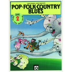 Eulner, Mike: Pop Folk Country Blues Band 2 : f├╝r Gitarre