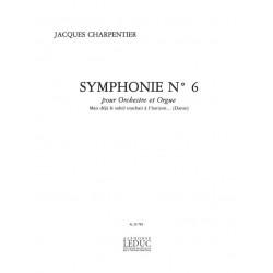 Charpentier, Jacques: SYMPHONIE NO. 6 POUR ORGUE ET ORCHESTRE PARTITION MINIATURE BQ