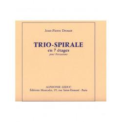 Drouet, Jean-Pierre: TRIO-SPIRALE EN 7 ETAGES PARTIE D A E2 BC