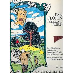 Kahowez, Günter: Folklore-Album : für 1-2 Panflöten und Gitarre (Akkordeon/Orgel) (Schlagzeug ad lib)