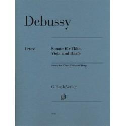 Debussy, Claude: Sonate für Flöte, Viola und Harfe Partitur und Stimmen