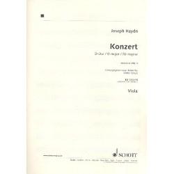 Haydn, Franz Joseph: Konzert D-Dur Hob.VIIb:4 : für Violoncello und Streichorchester Viola